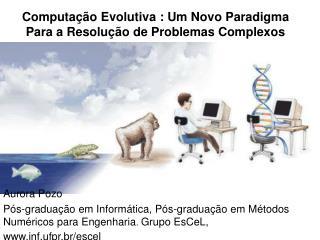 Computa  o Evolutiva : Um Novo Paradigma Para a Resolu  o de Problemas Complexos