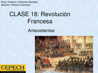 CLASE 18: Revoluci n Francesa