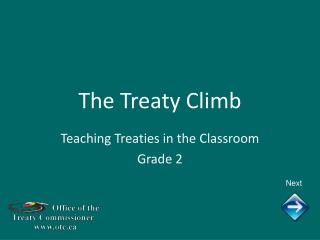 The Treaty Climb
