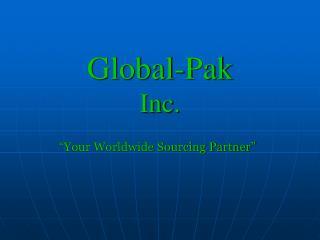 Global-Pak