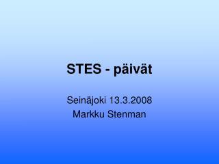 STES - p iv t