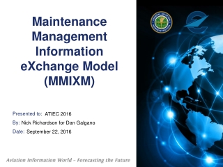 National Information Exchange Model NIEM