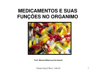 Farmacologia Cl nica - Aula 02