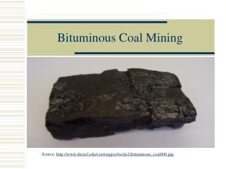 Bituminous Coal Mining
