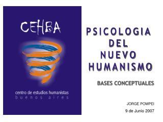 PSICOLOGIA  DEL  NUEVO  HUMANISMO