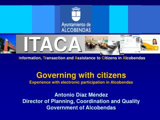 Information, Transaction and Assistance to Citizens in Alcobendas