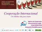 Coopera  o Internacional Um Melhor dia para todos