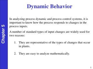 Dynamic Behavior