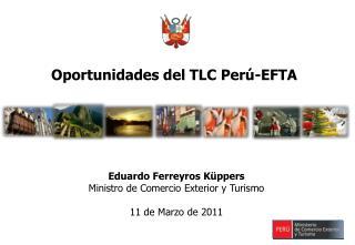 Oportunidades del TLC Per -EFTA