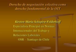Derecho de negociaci n colectiva como derecho fundamental de la OIT