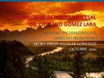 XI JORNADA DE DERECHO PROCESAL DR. CIPRIANO GOMEZ LARA