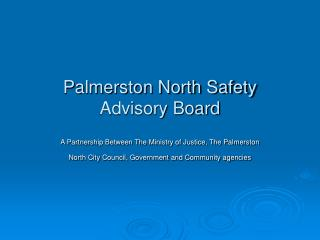 Palmerston North Safety Advisory Board