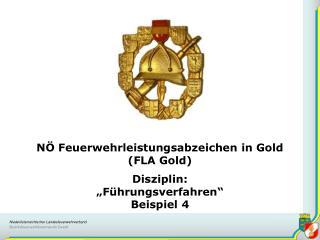 N  Feuerwehrleistungsabzeichen in Gold  FLA Gold