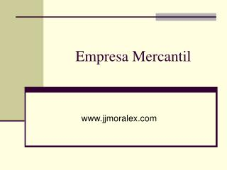 Empresa Mercantil
