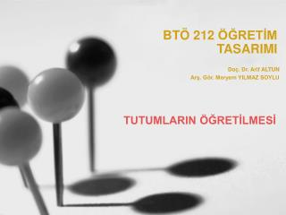 BT  212  GRETIM TASARIMI