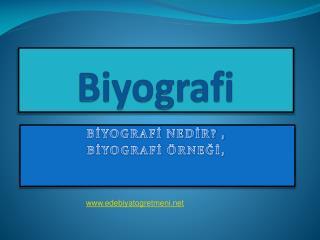 Biyografi