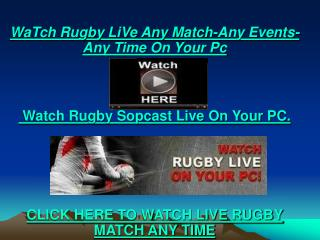 Enjoy The Exciting scarlets vs edinburgh LIVE Rugby On pc tv