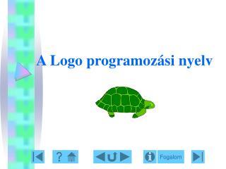 A Logo programoz si nyelv