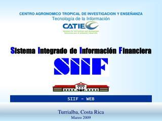 Sistema  Integrado  de  Informaci n  F  inanciera