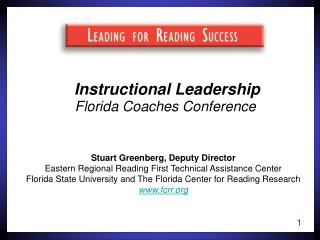 Instructional Leadership Florida Coaches Conference
