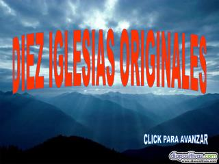 DIEZ IGLESIAS ORIGINALES