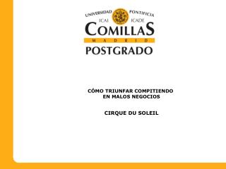 C MO TRIUNFAR COMPITIENDO        EN MALOS NEGOCIOS