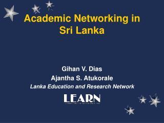 Academic Networking in Sri Lanka