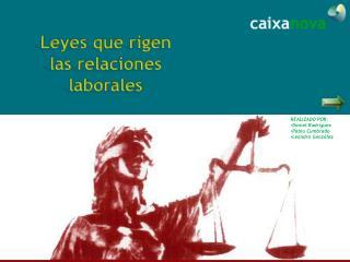 Leyes que rigen las relaciones laborales