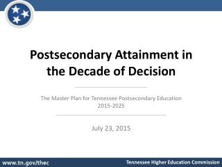 Ten-Year Master Plan Sample