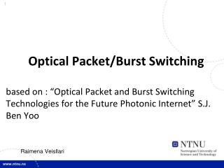 Optical Packet