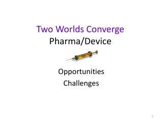 Two Worlds Converge Pharma