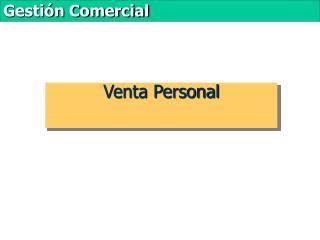 Venta Personal