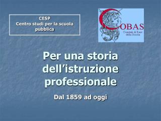 Per una storia dell istruzione professionale