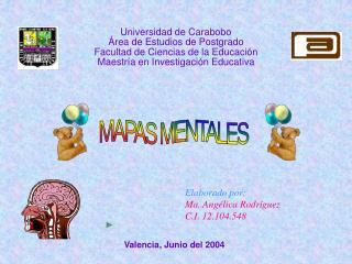 Universidad de Carabobo  rea de Estudios de Postgrado Facultad de Ciencias de la Educaci n Maestr a en Investigaci n Edu