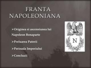 franta napoleoniana