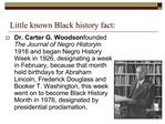 Little known Black history fact: