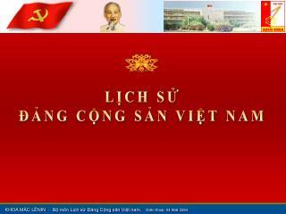 LCH S  NG CNG SN VIT NAM