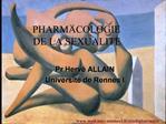 Pr Herv  ALLAIN Universit  de Rennes I