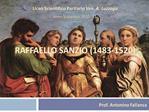 Raffaello sanzio 1483-1520