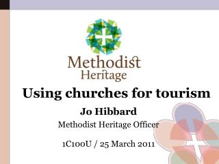 Using churches for tourism