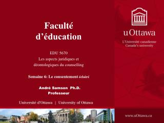 Facult  d  ducation