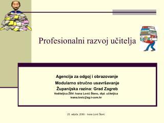Profesionalni razvoj ucitelja