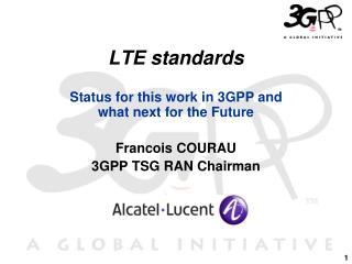 LTE standards