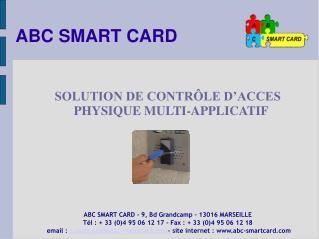 ABC SMART CARD