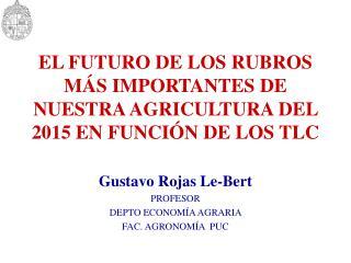 EL FUTURO DE LOS RUBROS M S IMPORTANTES DE NUESTRA AGRICULTURA DEL 2015 EN FUNCI N DE LOS TLC