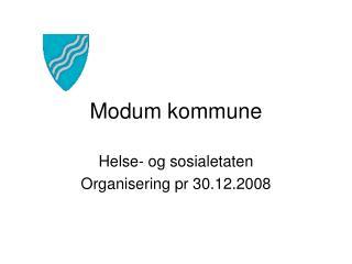 Modum kommune