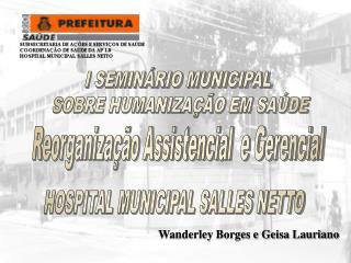 HOSPITAL MUNICIPAL SALLES NETTO
