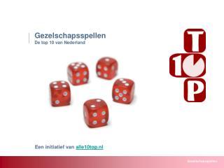 Wat is het favoriete gezelschapsspel van Nederland?