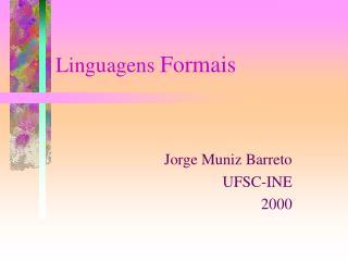 Linguagens Formais