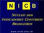 N CLEO  DOS INDICADORES  CONT BEIS BRASILEIROS